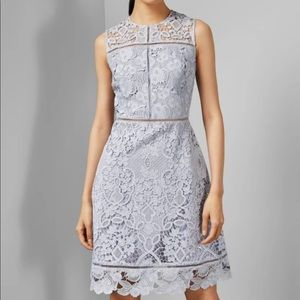 Ted Baker London Primrose Lace pale blue 4-6